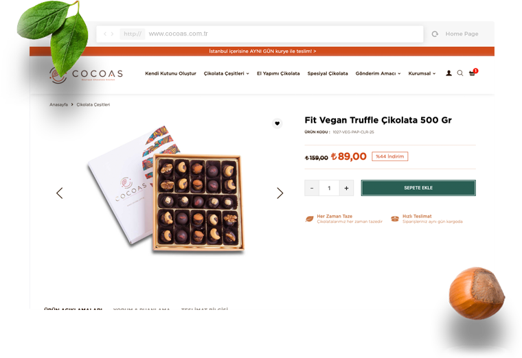 Cocoas Chocolate